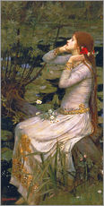 Gallery print  Ophelia - John William Waterhouse