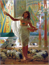 Wall sticker  Sacred Ibis in the halls of Karnac - Sir Edward John Poynter