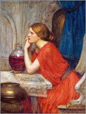 Foam board print  Circe, c.1911-14 - John William Waterhouse