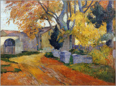 Wall Sticker  L'Allee des Alyscamps - Paul Gauguin