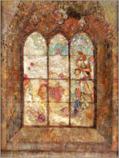 Wall sticker  The stained glass windows - Odilon Redon