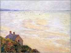 Wall sticker  The Hut in Trouville at Low Tide - Claude Monet