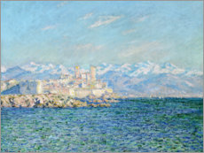 Premium poster  Fort in Antibes - Claude Monet
