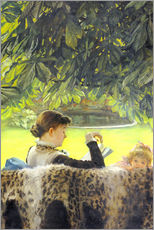 Wall sticker  Quiet - James  Tissot