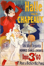 Canvas print  Hall of Hats (French) - Jules Cheret