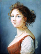 Gallery print  Louise, Queen of Prussia - Elisabeth Louise Vigee-Lebrun