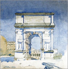 Wall sticker  Arch of the Titus in Rome - Charles Rennie Mackintosh