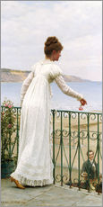 Wall sticker  A Favour, 1898 - Edmund Blair Leighton