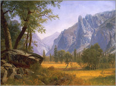 Wall sticker  Yosemite Valley - Albert Bierstadt