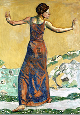 Wall sticker  Joyous Woman - Ferdinand Hodler