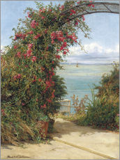 Gallery print  A Garden by the Sea - Frank Topham