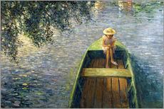 Wall sticker  The Boat on the Marne - Henri Lebasque