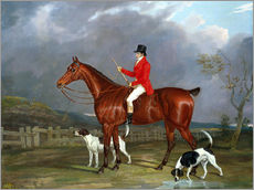 Gallery print  A Huntsman and Hounds, 1824 - David of York Dalby