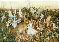 Gallery print  Fairies in the dusk - John Anster Fitzgerald