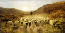 Gallery print  Leaving the Hills - Joseph Farquharson