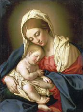 Gallery print  The Madonna with child - Il Sassoferrato