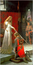 Wall sticker  The Accolade - Edmund Blair Leighton