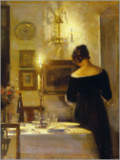 Wall sticker  In the dining room - Carl Holsøe