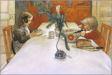 Wall sticker  The Evening Meal, 1905 - Carl Larsson