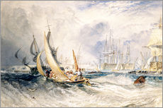 Gallery print  Gosport: The Entrance to Portsmouth Harbour - Joseph Mallord William Turner
