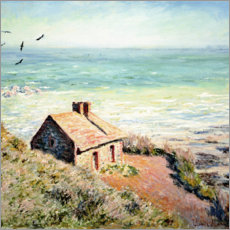Canvas print  Fisherman's Hut, Varengeville - Claude Monet