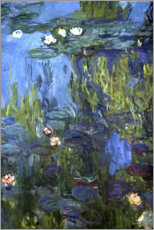 Wall Stickers  Water Lilies - Claude Monet