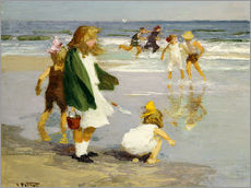 Wall sticker  Play in the Surf - Edward Henry Potthast