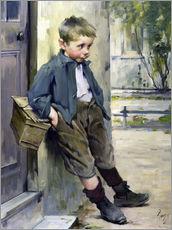 Gallery print  Out of the Game - Henri Jules Jean Geoffroy