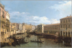 Canvas print  The Entrance to the Grand Canal, Venice - Bernardo Bellotto (Canaletto)