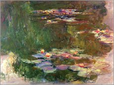 Gallery print  The lily pond - Claude Monet