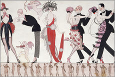Gallery print  The Tango - Georges Barbier