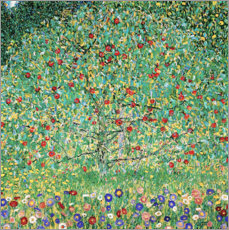 Wood print  Apple Tree I - Gustav Klimt