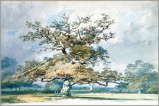 Gallery print  A Landscape with an Old Oak Tree - Joseph Mallord William Turner