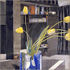 Gallery print  Yellow Tulips - Charles Rennie Mackintosh