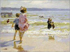 Wall sticker  At the Seashore - Edward Henry Potthast