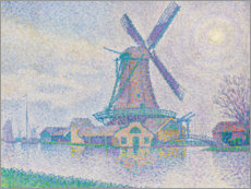 Wall sticker  Moulin d'Edam, 1896 - Paul Signac