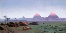 Gallery print  The First Kiss of the Sun - Jean Leon Gerome