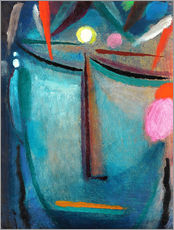 Wall Stickers  Face of Christ, Crown of Thorns - Alexej von Jawlensky