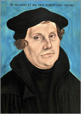 Wall sticker  Martin Luther - Lucas Cranach d.Ä.