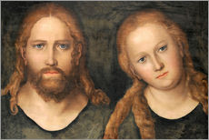Gallery print  Christ and Mary Magdalene - Lucas Cranach d.Ä.