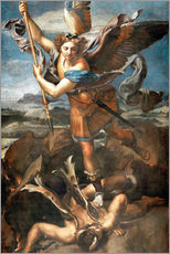 Gallery Print  St.Michael kills the demon - Raffael