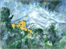 Wall sticker  Montagne Sainte-Victoire - Paul Cézanne