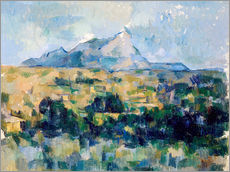 Wall sticker  Montagne Sainte Victoire - Paul Cézanne
