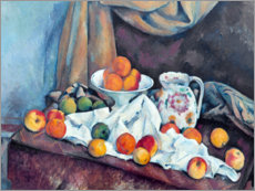 Canvas print  Nature morte - Paul Cézanne