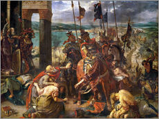 Eugene Delacroix - The conquest of Constantinople by the crusaders