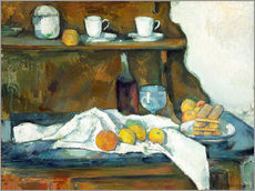 Gallery print  Le buffet - Paul Cézanne