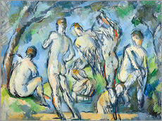 Gallery print  The Seven Bathers - Paul Cézanne