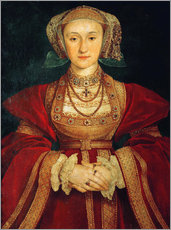 Wall Sticker  Anne of Cleves - Hans Holbein d.J.