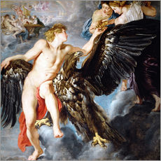 Wall Stickers  Abduction of Ganymede - Peter Paul Rubens