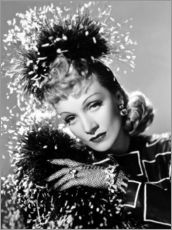 Wall sticker  Marlene Dietrich